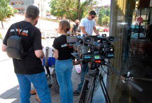 Ayuntamiento BCN · Barcelona Activa · Grabación con Cámaras 3D · AudioVisual Factory